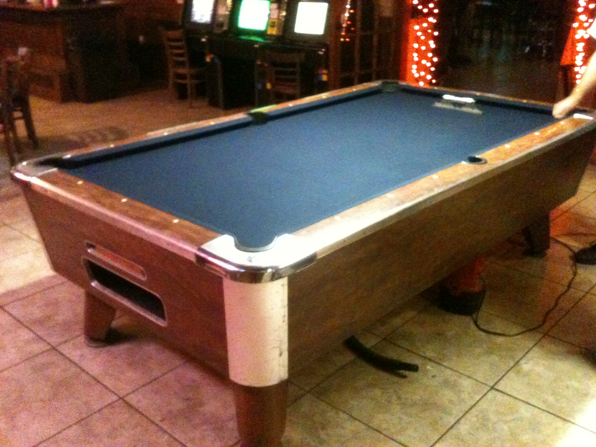 Bar Pool Tables In Atlanta Commercial Pool Tables - United billiards pool table coin operated