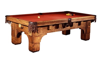 Golden West St. Thomas Pool Table