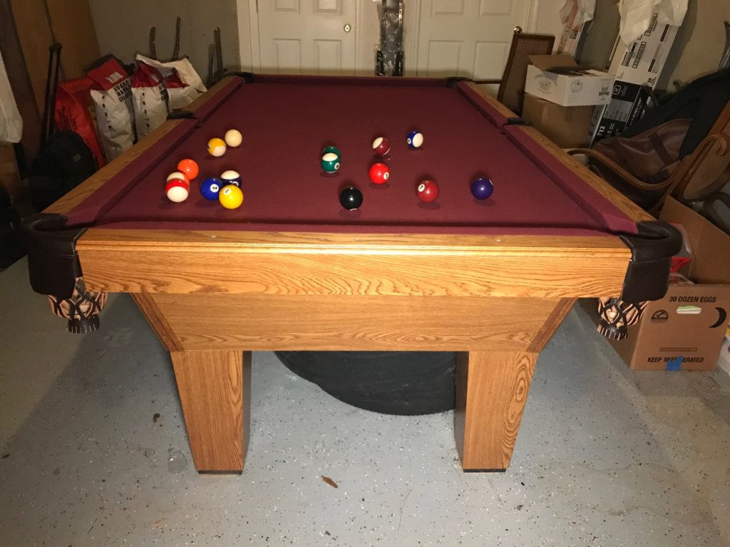 Used Pool Tables Absolute Billiard Services - Olio pool table